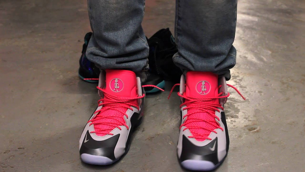 e7afa0fc9760f ... sweden nike lil penny posite wolf grey hyper pink on feet video  exclucity youtube 5c22f 2c0c1