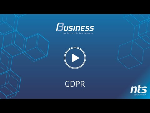 Business Cube - GDPR - NTS Informatica