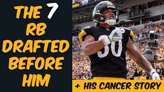 Who Were The 7 Running Backs Drafted Before James Conner? Where Are They Now? (+ His Cancer Story)