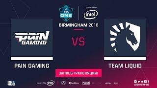 paiN vs Liquid, ESL One Birmingham, game 1 [Maelstorm, 4ce]