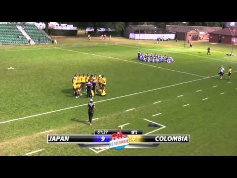 WU23 2015 | Japan vs Colombia (Women) - Pool Play