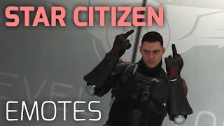Star Citizen – Alle Emotes der Version Alpha 1.3 [1440p][60fps]