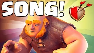 "Clash of Clans ""GIANT SONG!"" Clash of Clans Track 3/10 New Album!"