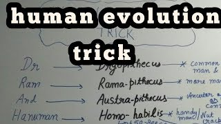 Trick to learn evolution of Human Biology ll Class 12 ll for CBSE NCERT Neet AIIMS