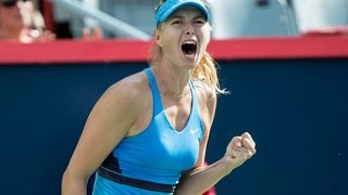 Maria Sharapova VS Garbine Muguruza Highlight (Montreal) 2014 R2