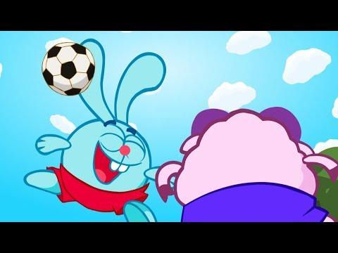 Смешарики футбол первый тайм