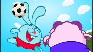 Футбол 1-й тайм - Смішарики 2D | Мультфільми для дітей