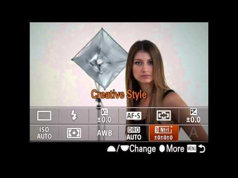 Saving Custom Setup with Memory Recall With The Sony A7ii