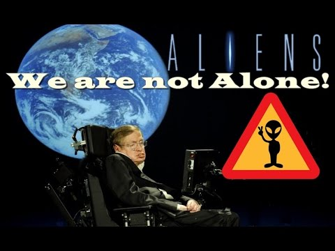 Stephen Hawking Repeatedly Warns On Aliens Contact | We are not Alone UFO Threat and It's Real