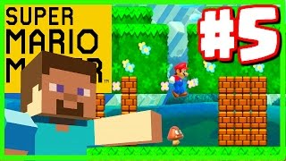 MINECRAFT IN MARIO! - Super Mario Maker - Super Mario Maker Gameplay Walkthrough Part 5