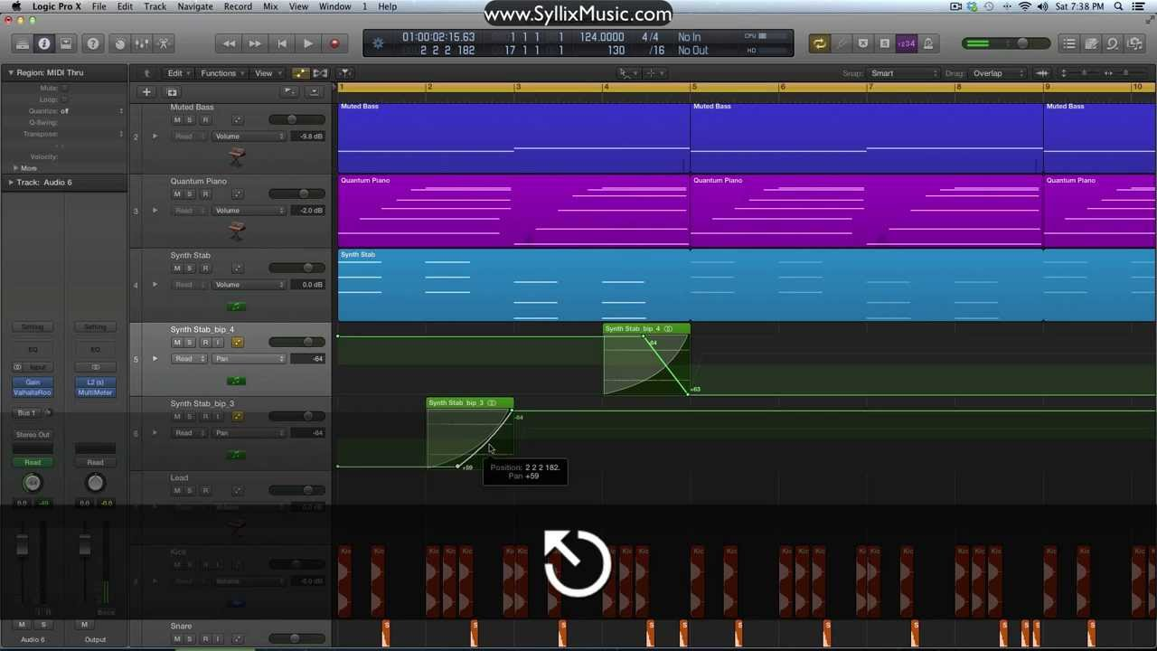 how to add effects in logic pro 9