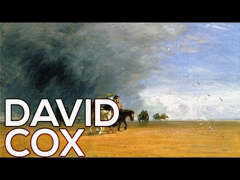 David Cox: A collection of 240 paintings (HD)