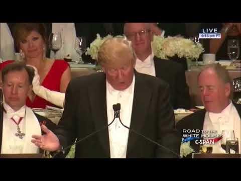When Trump roasted Hillary on Haiti #FollowTheWhiteRabbit