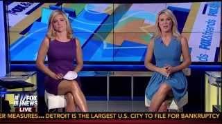 Ainsley Earhardt & Heather Childers 09-02-14