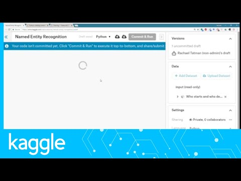 Kaggle Live-Coding: Named Entity Recognition