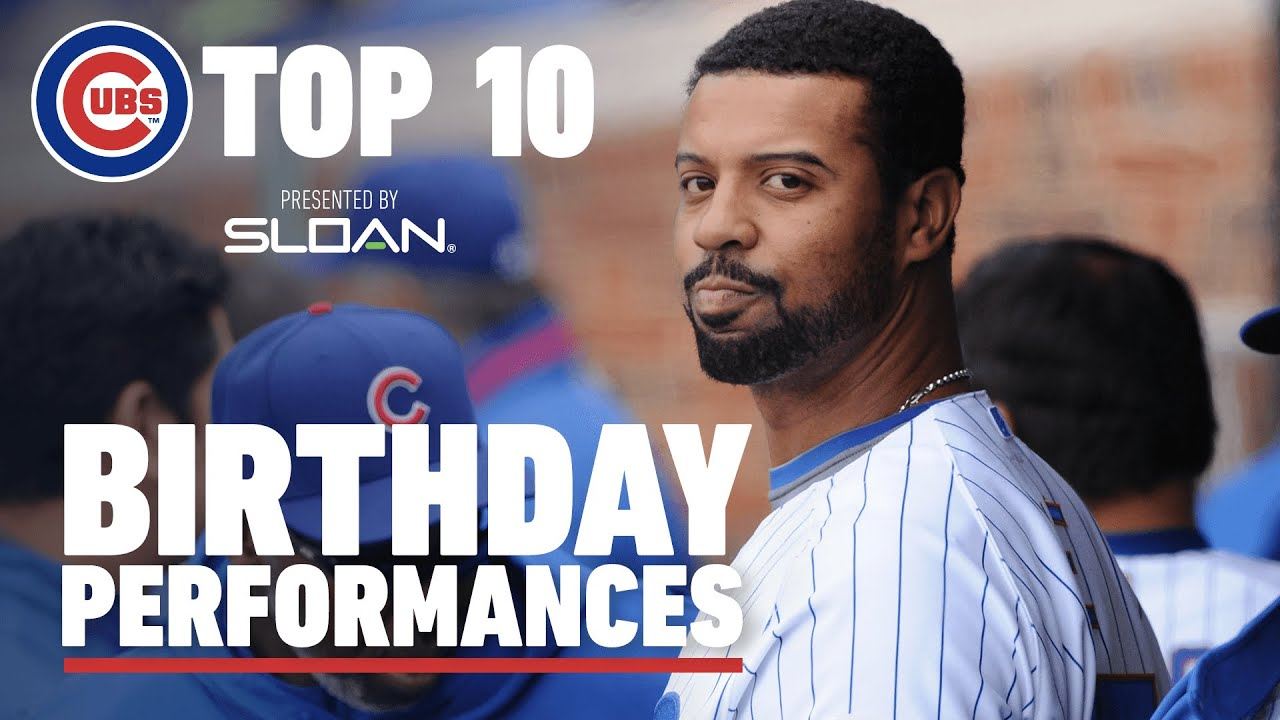 Top 10 Cubs Birthday Performances | D-Lee's Grand Slam, Dempster's Dominant Start