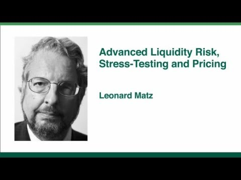 Advanced Liquidity Risk, Stress-Testing and Pricing