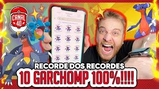 GARCHOMP 100% SHINY (SHUNDO)   MELHOR DIA COMUNITÁRIO DA HISTÓRIA - Pokémon GO