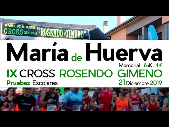 Cross María de Huerva. Memorial Rosendo Gimeno 2019