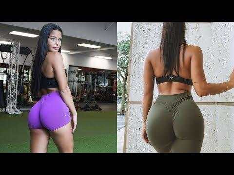 Katya Elise Henry Booty Workout