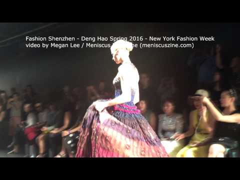 Fashion Shenzhen - Deng Hao Spring 2016 - New York Fashion Week - Meniscus Magazine