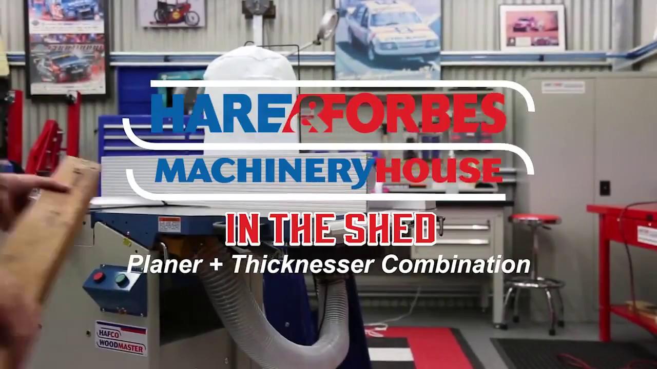 PT-300 Planer & Thicknesser Combination | Machineryhouse