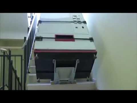 CargoMaster C400-Heavy Duty Lift Series (Transportation of a vending machine)