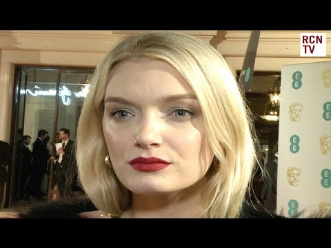 Lily Donaldson Interview BAFTA Film Awards 2016