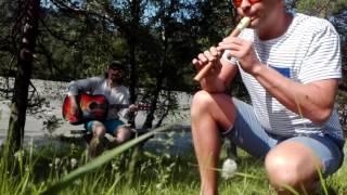 Блокфлейта. Урок 1 Импровизируй на флейте с нуля за 1 месяц Гамма Ми минор