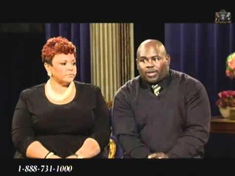 David and Tamela Mann with Clifton Davis on TBN Interivew Jan 23-12