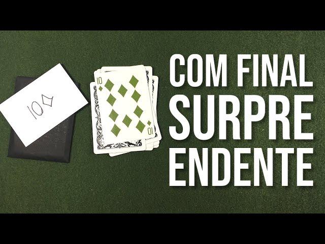 O Final Desse Truque é SURPREENDENTE. Aprenda Agora. Magica REVELADA!