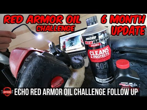 Red Armor Oil Challenge Follow Up Before And After 6 Month Test