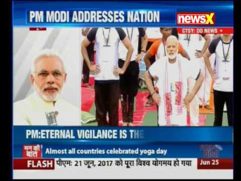 Mann Ki Baat — PM Narendra Modi addresses the nation, offers