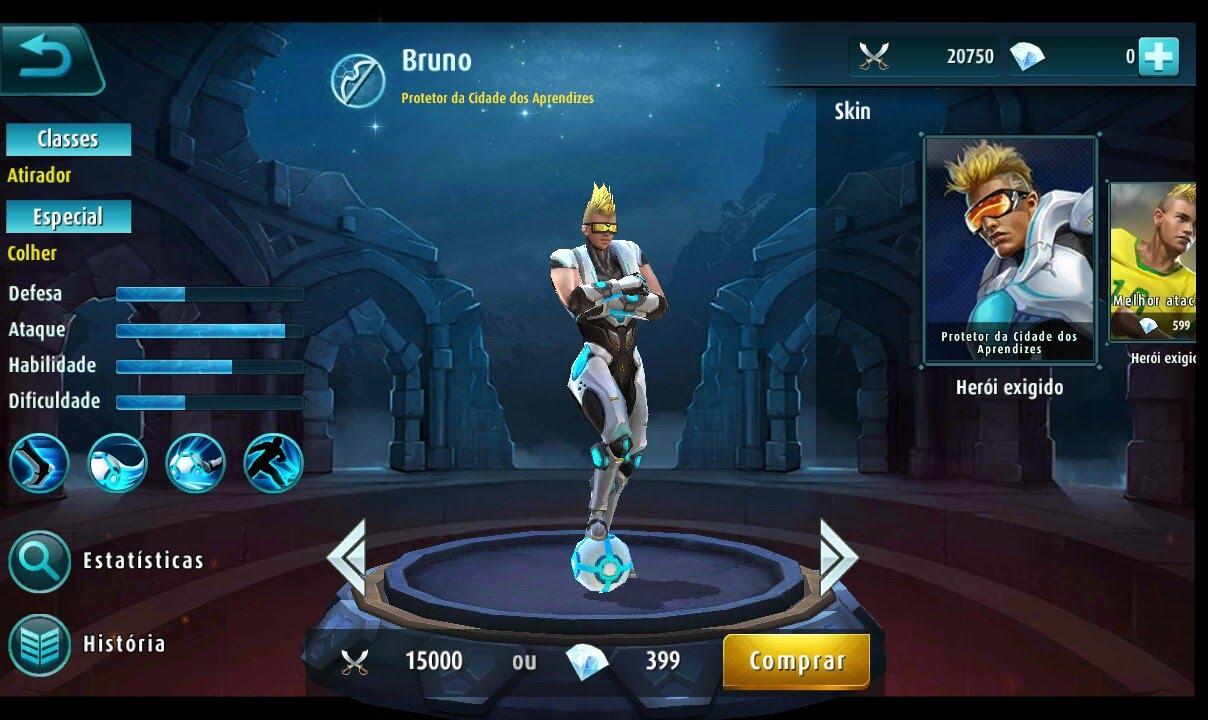 Jogando Com O Herói Bruno - YouTube