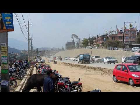 Kathmandu 8 lane Ring Road || Construction From chinese company