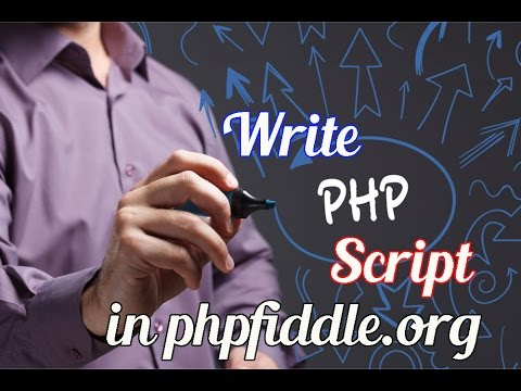 Online PHP Editor : Manage your PHP Code using PHPFiddle