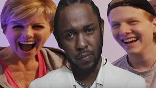 Mom reacts to Kendrick Lamar - DNA & HUMBLE @kendricklamar