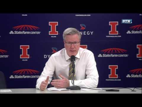 Fran McCaffery Post-Illinois Press Conference