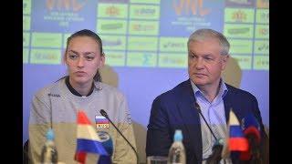 Лига Наций - Кубок Ельцина. Пресс-конференция, 14/05/2018.