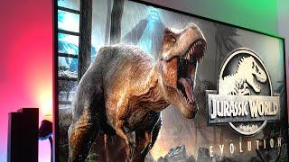 JURASSIC World: Evolution   Xbox One X Enhanced on TCL 55R617