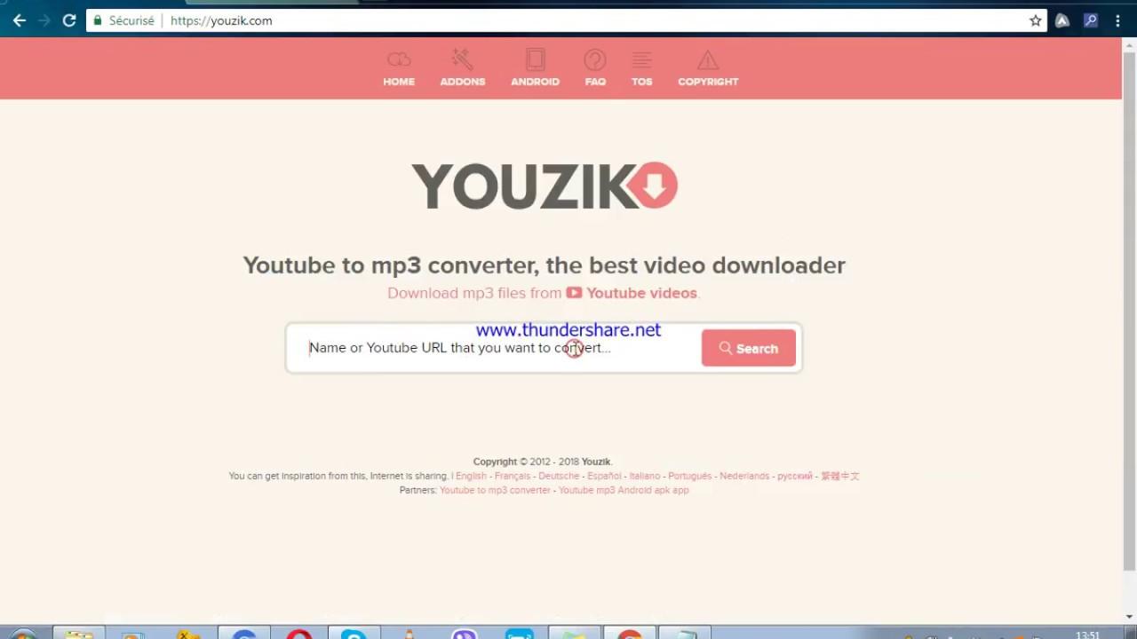 Youzik app