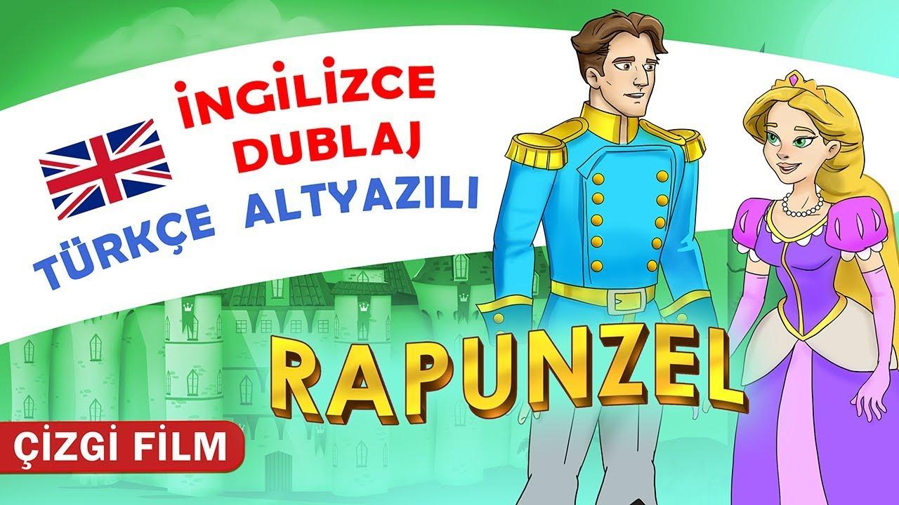 Rapunzel Masalı Ingilizce Dublaj Türkçe Altyazili Kondosan çizgi