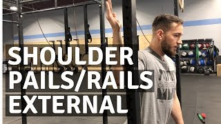 Unable to Overhead Press? Try External Rotation PAILs/RAILs