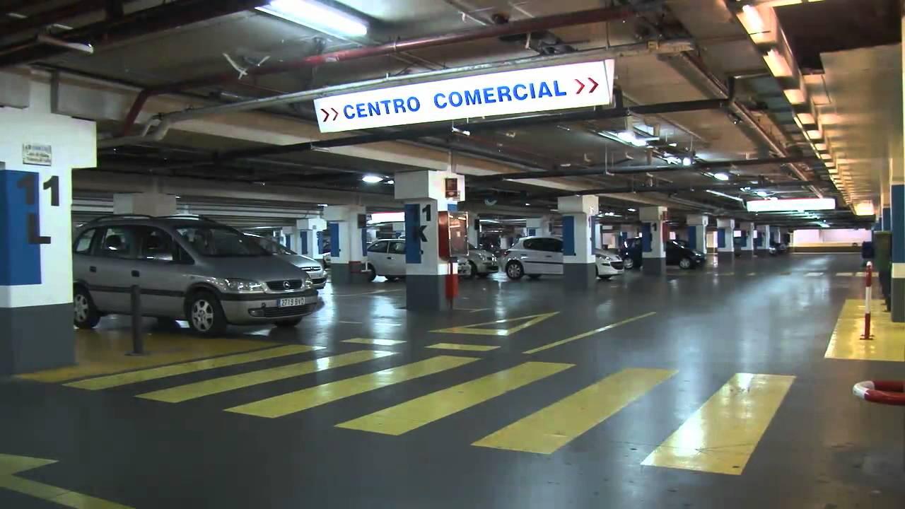 Resultado de imagen de parking centro comercial