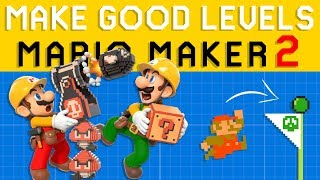 Basic Super Mario Maker 2 Level Design - How to Make GOOD Levels!