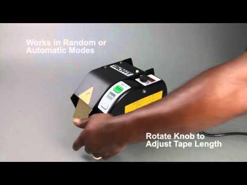 Tach-It Z-Cut 5 Semi-Automatic Tape Dispenser