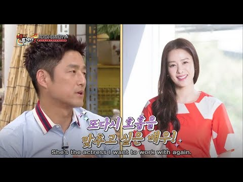 (ENG SUB) Ji Jin Hee hopes to work with Kim Hyun Joo for another 30 years