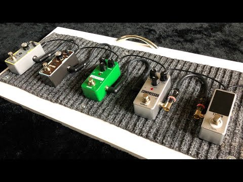 These cheap mini effects pedals are actually AWESOME (most are less than $20)