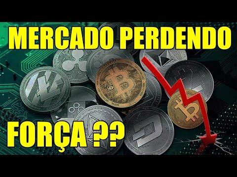 Bitcoin e Altcoins PERDENDO FORÇA?!