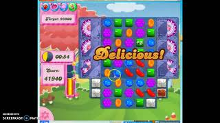 Candy Crush Level 373 Audio Talkthrough, 3 Stars 0 Boosters